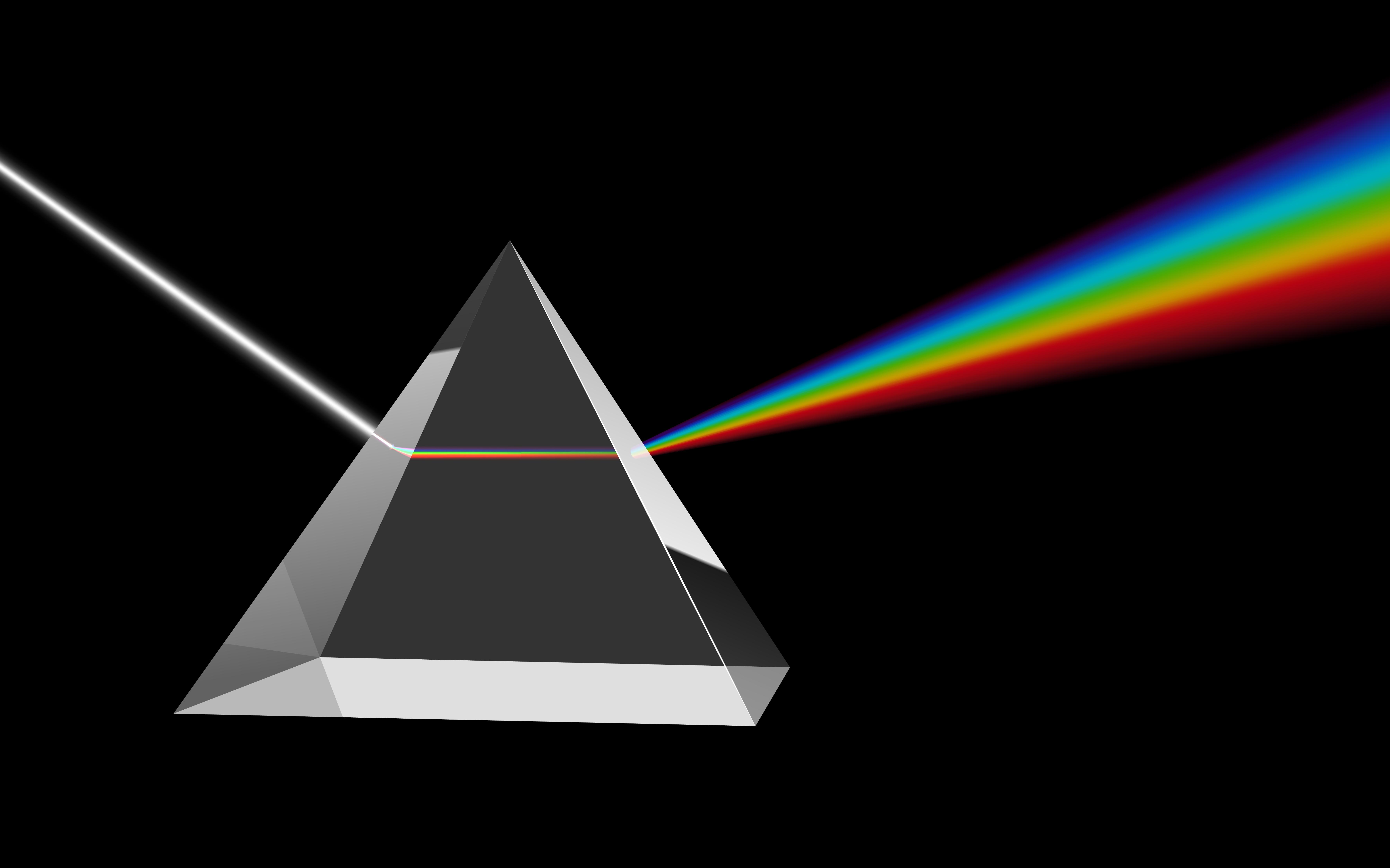 pyramid prism light rainbow dark Wiederblank Tanach ...