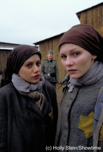 Still from The Devil's Arithmetic, starring Kirsten Dunst and Brittany Murphy. The film garnered rave reviews and earned Avrech the Emmy Award for best screenplay.