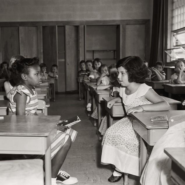 Children The First Day Of Desegregation