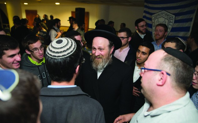Rabbi Moshe Weinberger's appointment as mashpia at YU indicates just how deeply the neo-Chassidus movement has impacted the Modern Orthodox world.  Photo courtesy of Yeshiva University