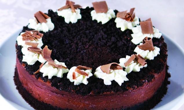 Chocolate Cheesecake Photos: Doug Gilletz