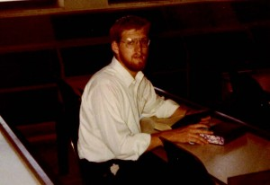 Rabbi Ron Yitzchok Eisenman as a young yeshiva bochur learning in Yeshivat Har Etzion. Courtesy of Rabbi Eisenman