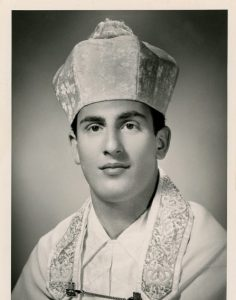 Cantor Goffin in 1961 at the onset of his cantorial career. Courtesy of Cantor Goffin