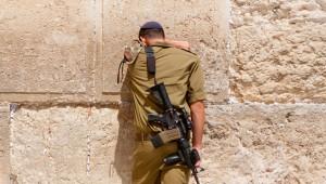 israel soldier kotel