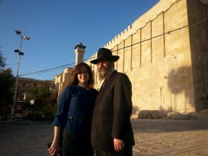 Rabbi Mendy Mangel and his wife, Dinie, of Chabad Lubavitch of Camden and Burlington Counties. Photo courtesy of Rabbi Mangel