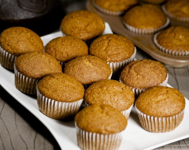 Moist and luscious carrot muffins