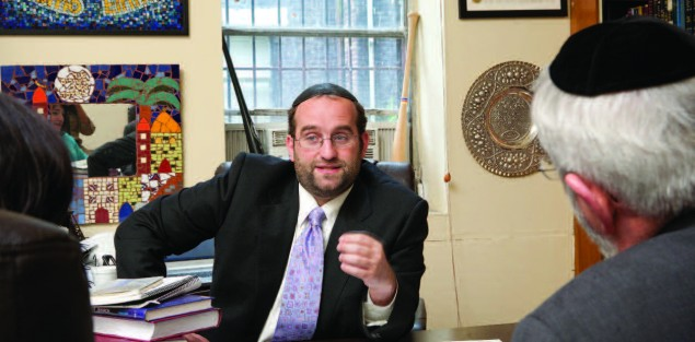 Rabbi Shlomo Einhorn, former rabbi at West Side Institutional Synagogue. He is currently dean and rav of Yeshivat Yavneh in Los Angeles. Photo: Erica Berger